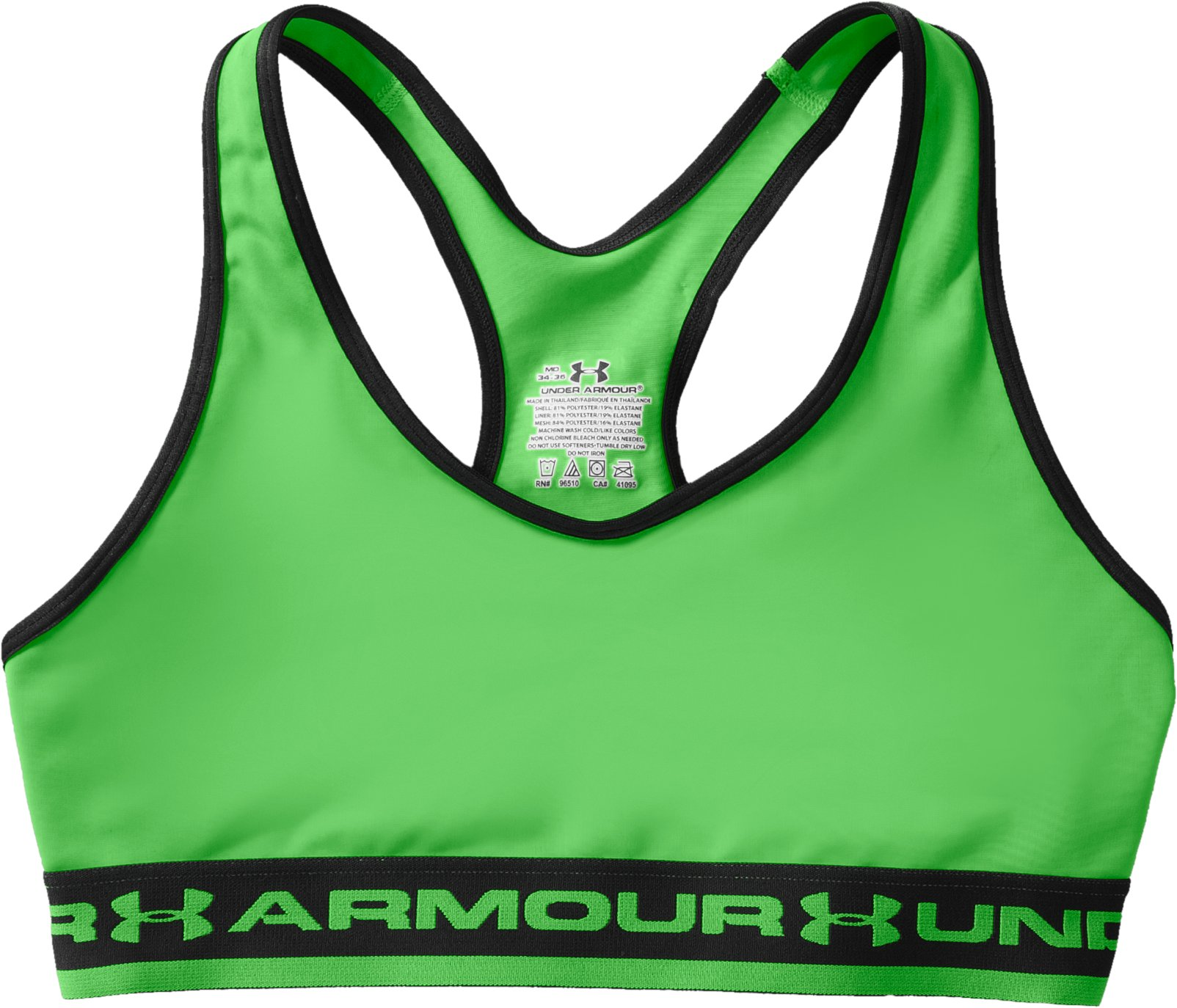Women's UA Gotta Have It Sports Bra, Lizard, Laydown
