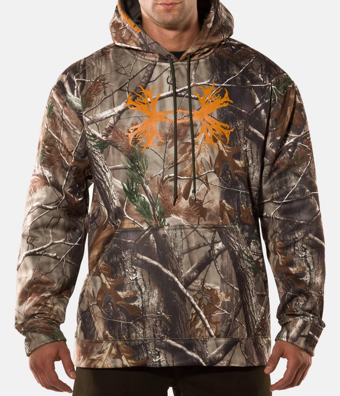 Under armor camo hoodies