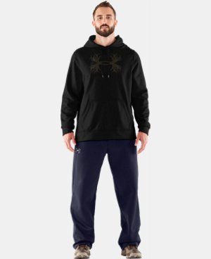 Men's UA Storm Armour® Fleece Solid Antler Hoodie LIMITED TIME: FREE U.S. SHIPPING 1 Color $48.99