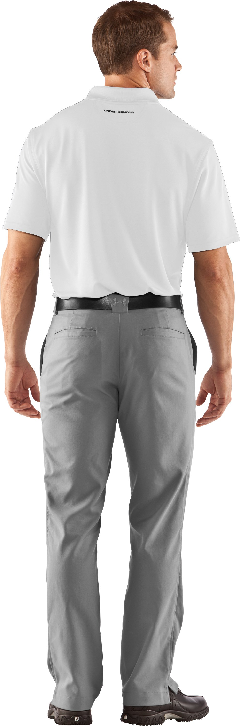 Men's UA Freedom Polo, White, Back