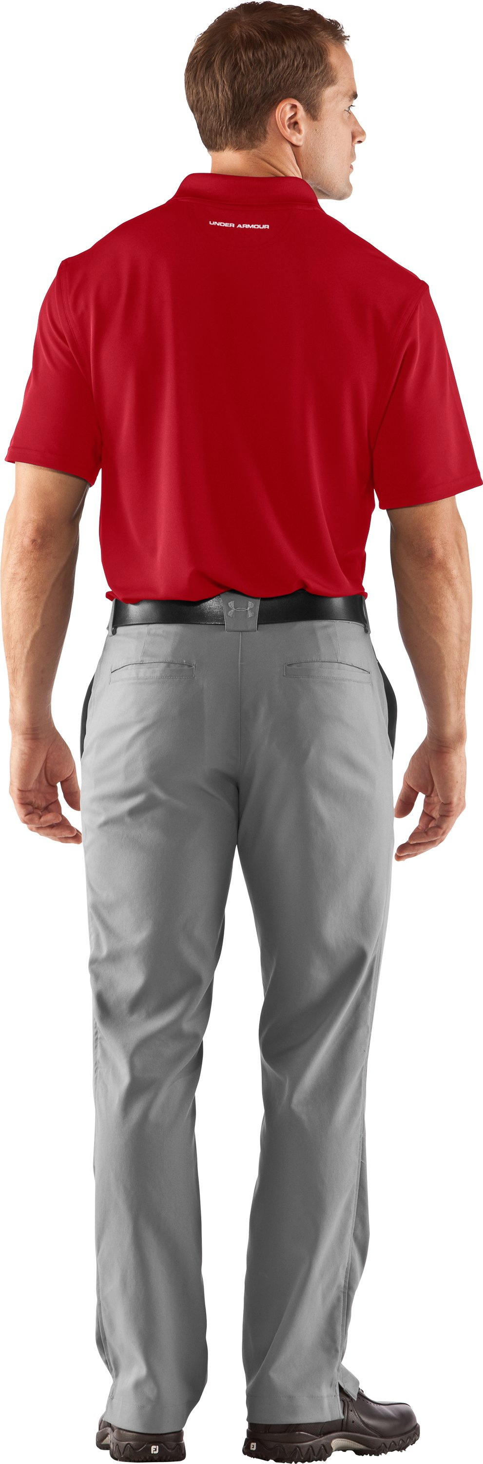 Men's UA Freedom Polo, Red, Back