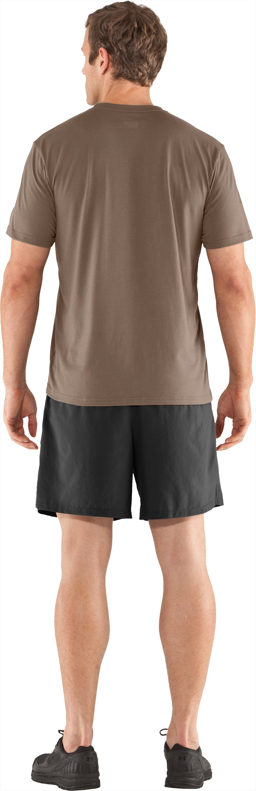 Men's UA Hunt Antler Logo T-Shirt, Uniform, Back