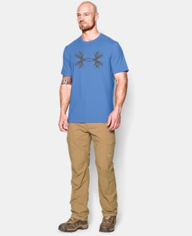 Men's UA Hunt Antler Logo T-Shirt LIMITED TIME: FREE U.S. SHIPPING 1 Color $14.99 to $19.99
