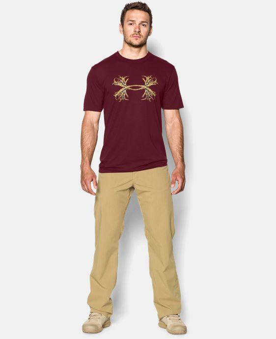 Men's UA Hunt Antler Logo T-Shirt  1 Color $17.24