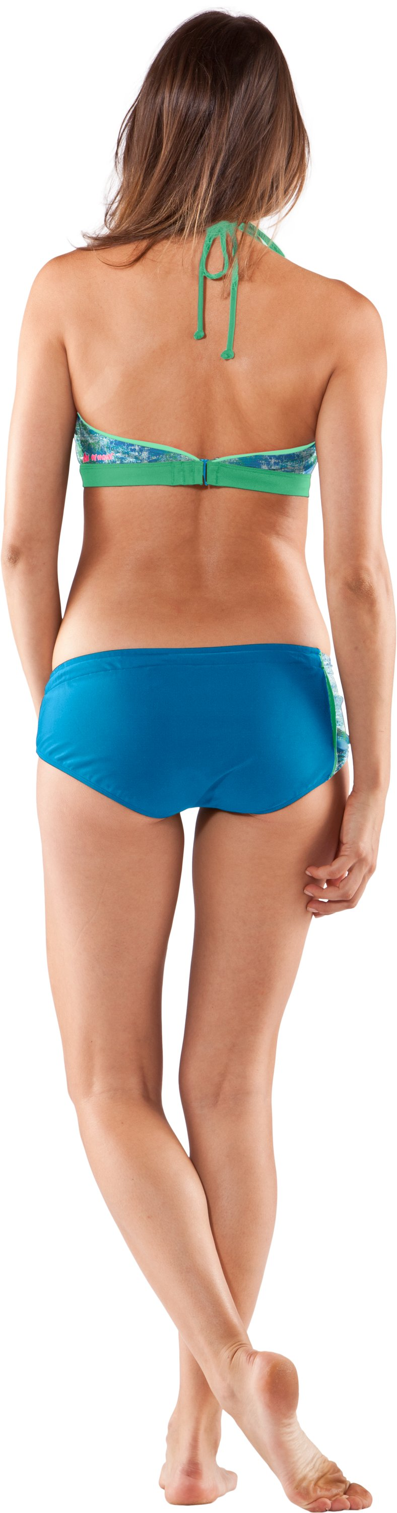 Women's UA Convertible Bandeau, Cortez, Back