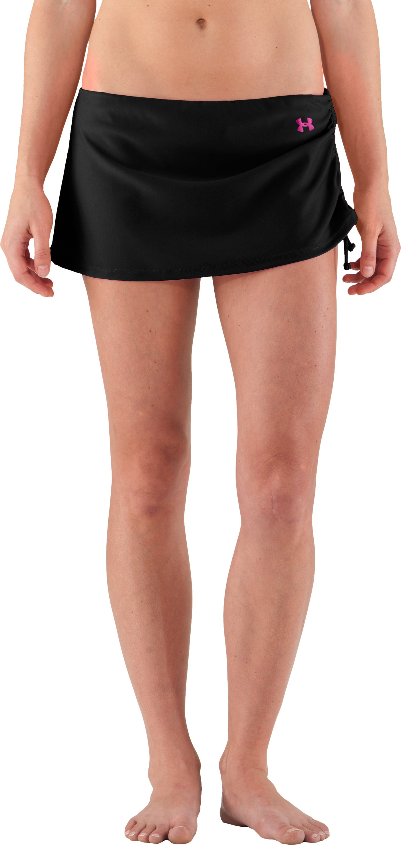 Women's UA Coco Butter Skirtini, Black , undefined