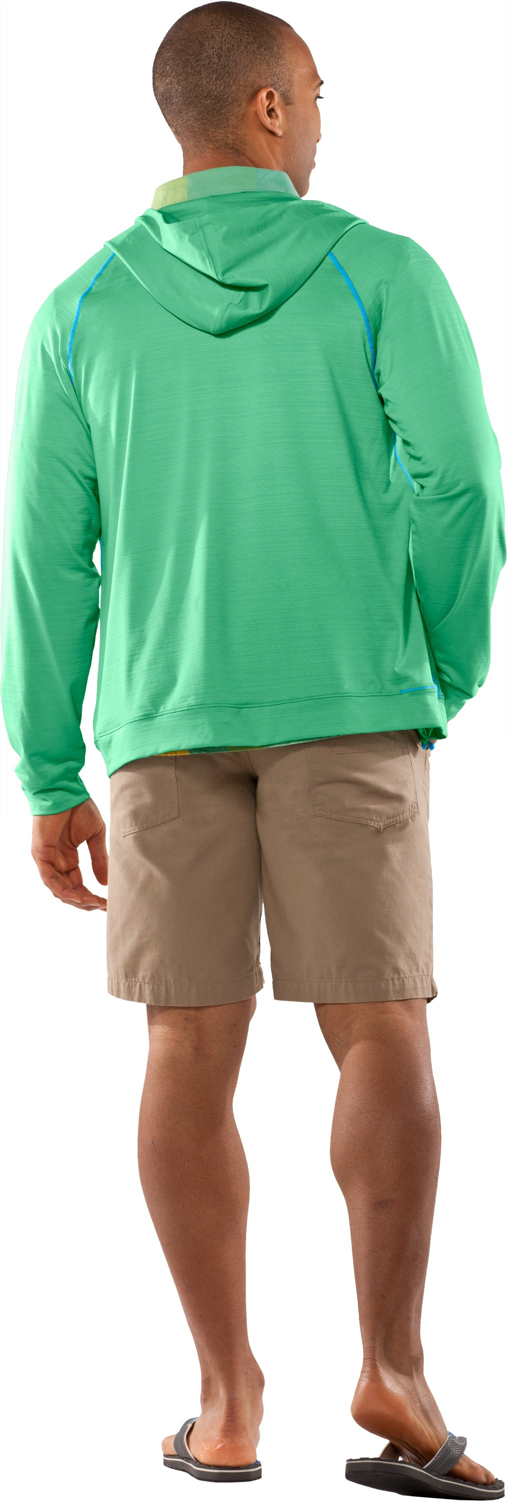 Men's UA Tour Full Zip Hoodie, Ribbit, Back