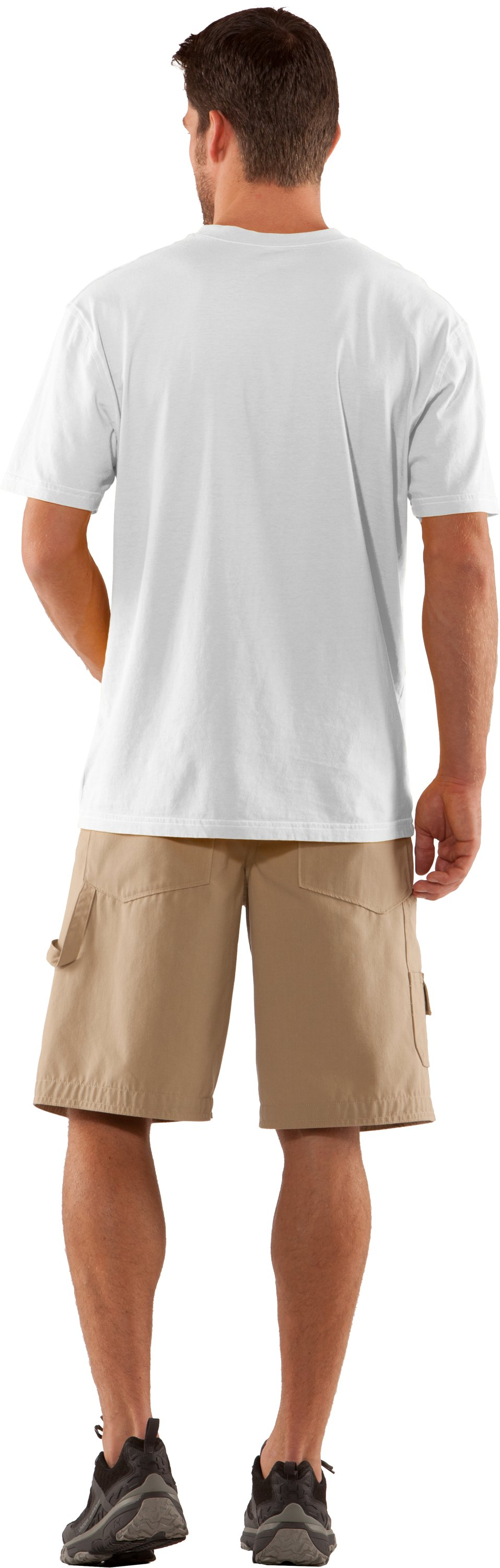 Men's Charged Cotton® Pocket T-Shirt, White, Back