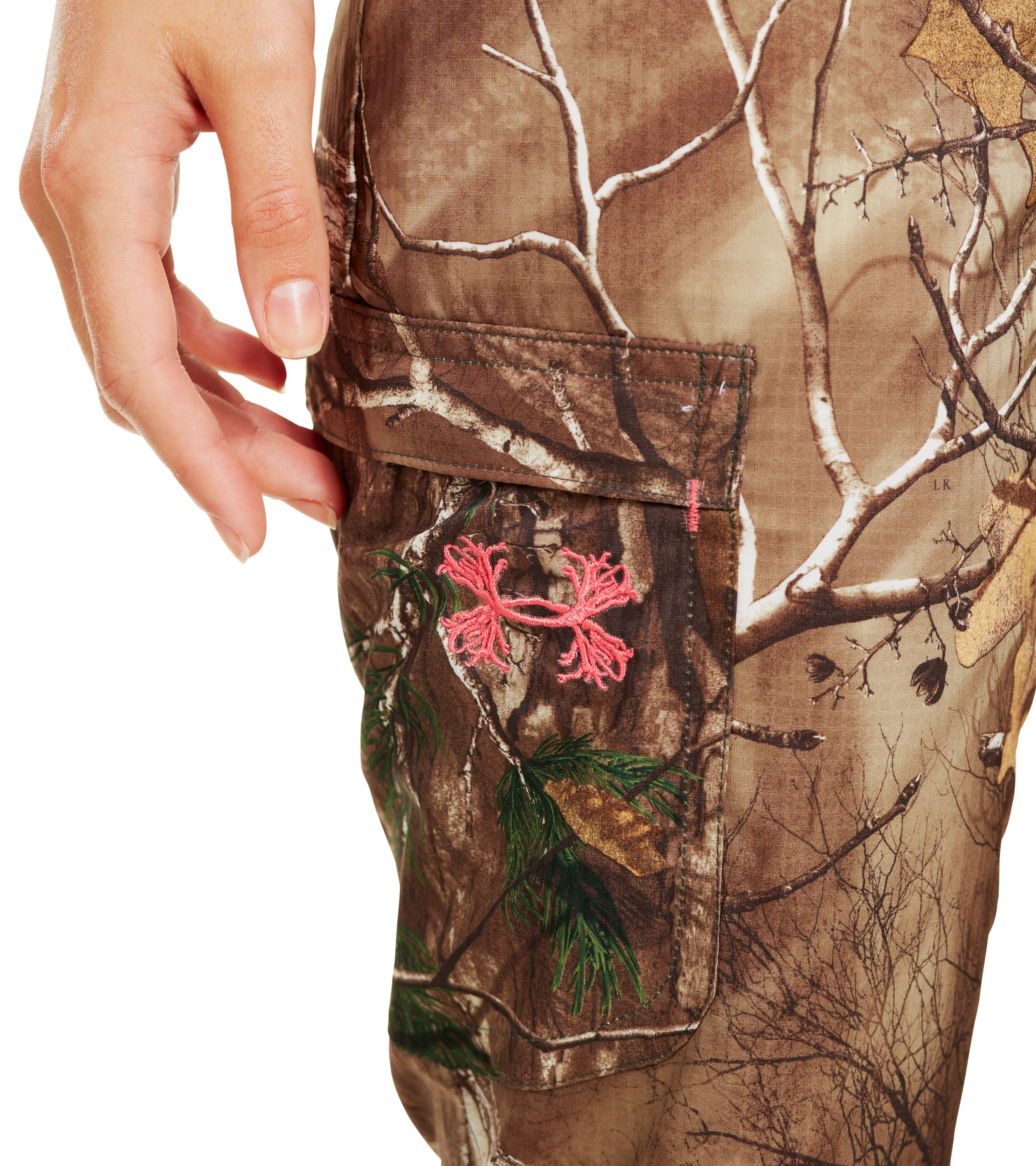Women's UA Performance Field Pant, REALTREE AP-XTRA,