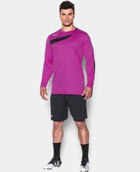 Men's UA Horizontal Goalkeeper Jersey   $23.99