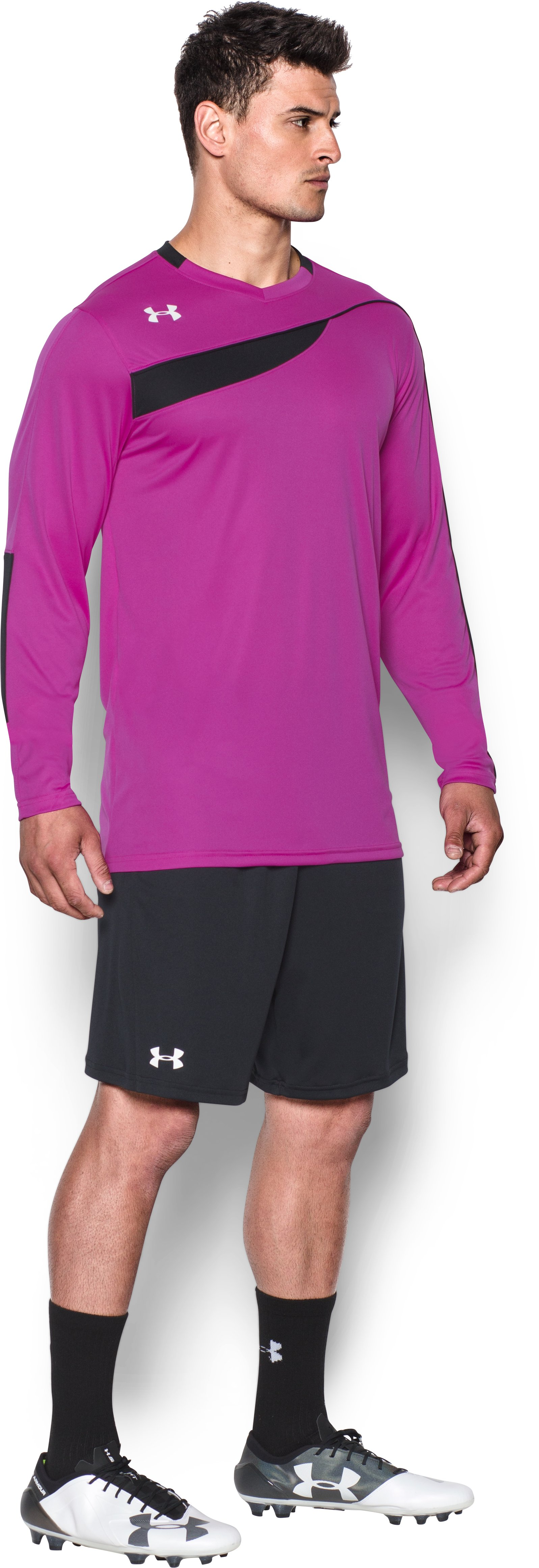 Men's UA Horizontal Goalkeeper Jersey, STROBE, undefined