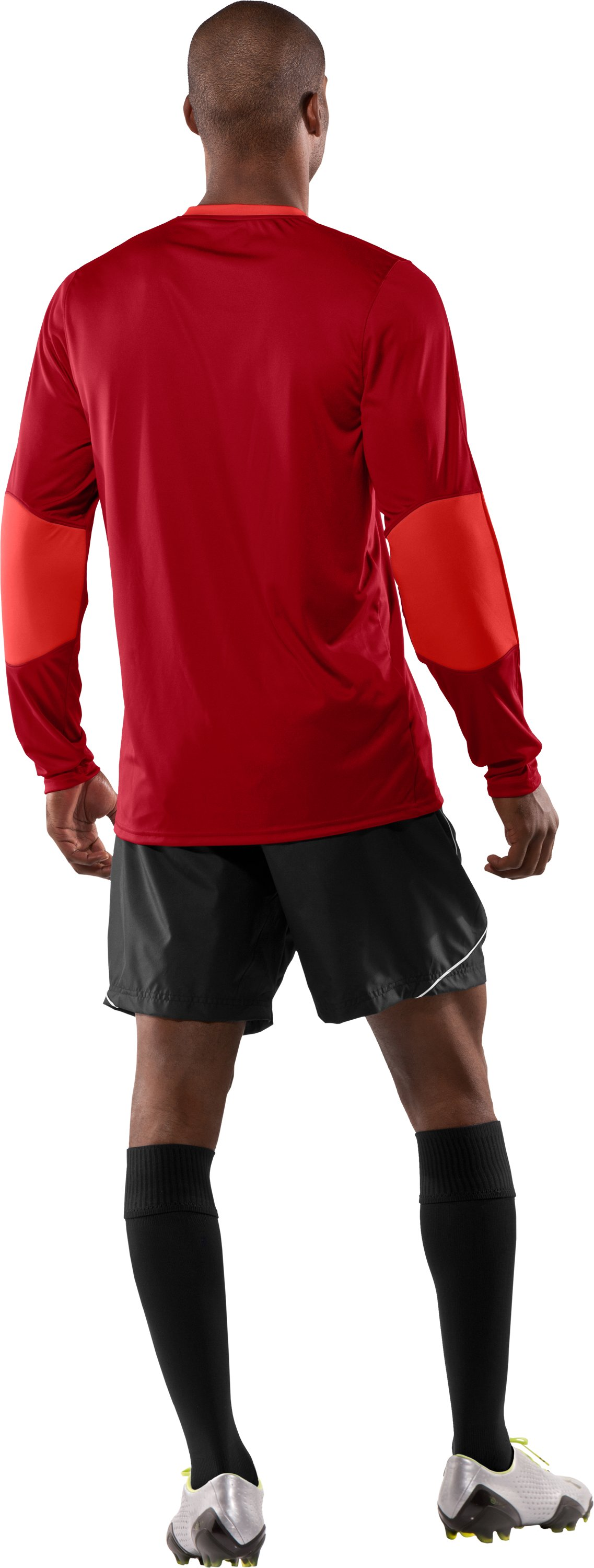 Men's UA Horizontal Goalkeeper Jersey, Fraternity, Back