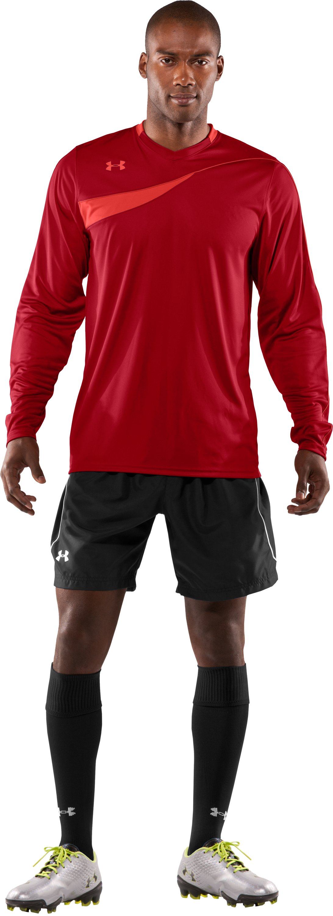 Men's UA Horizontal Goalkeeper Jersey, Fraternity, Front