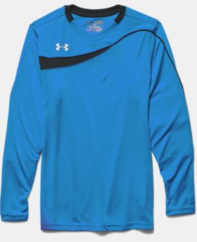 Boys' UA Horizontal Goalkeeper Jersey