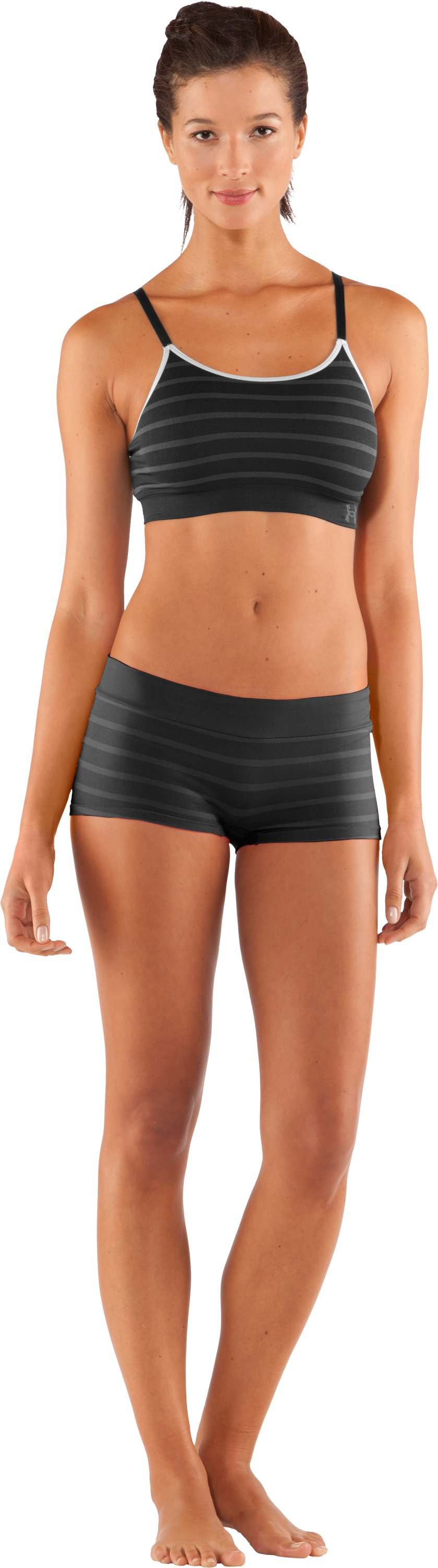 Women's UA Seamless Bralette, Black
