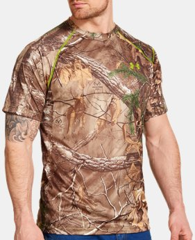 Men's UA Scent Control HeatGear® Short Sleeve