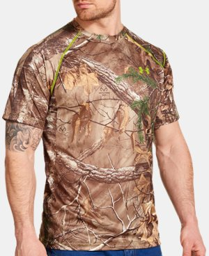 Men's UA Scent Control HeatGear® Short Sleeve  1 Color $29.99