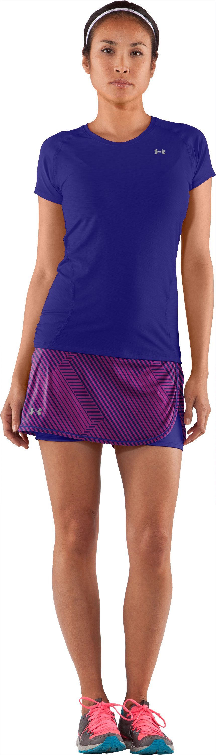 Women's UA Escape Knit Skort II, Rosewood