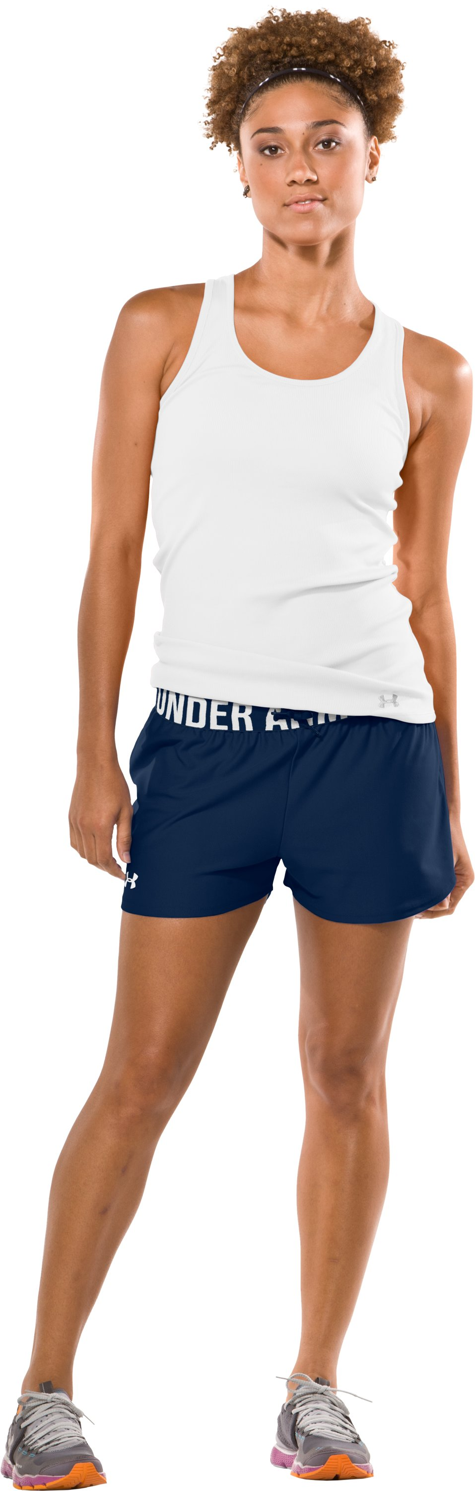 "Women's Play Up 3"" Short, Academy, Front"