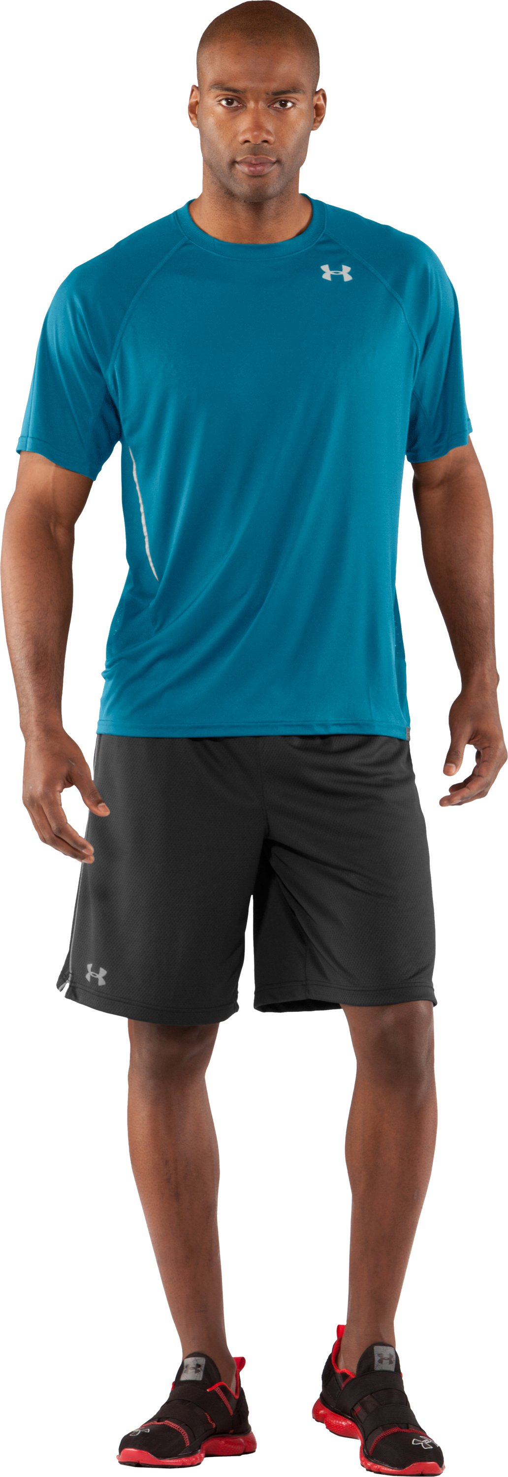 Men's Draft UA Catalyst Short Sleeve T-Shirt, Break, Front