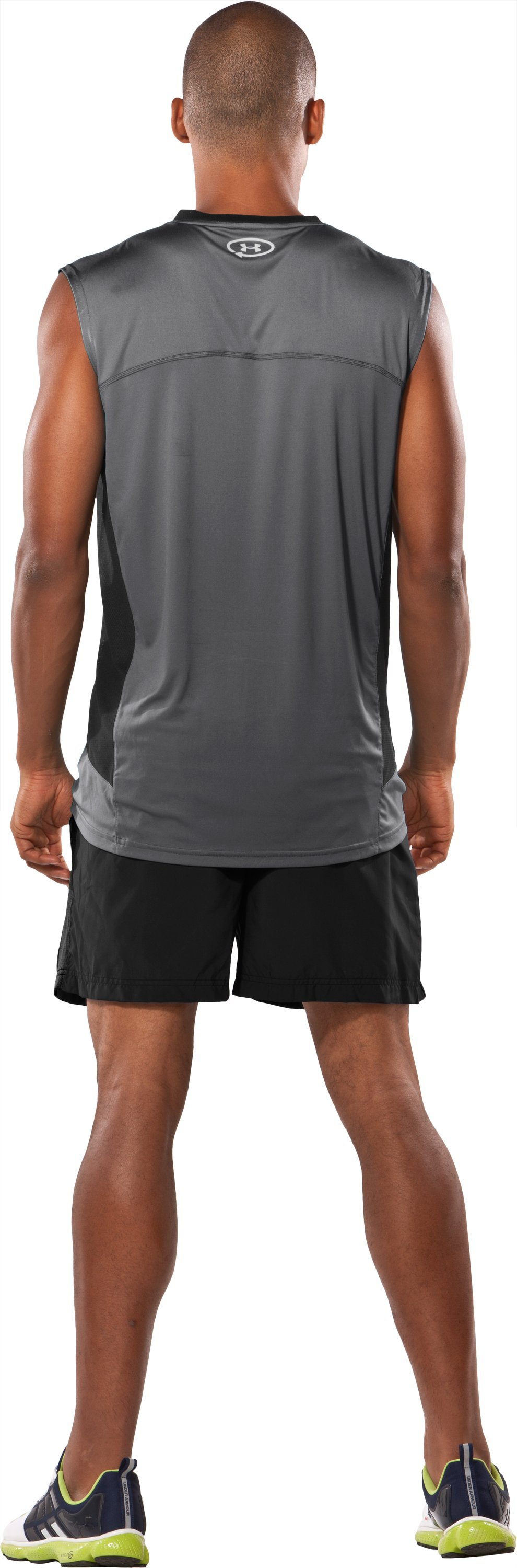 "Men's Draft UA Catalyst 5"" Shorts, Black , Back"