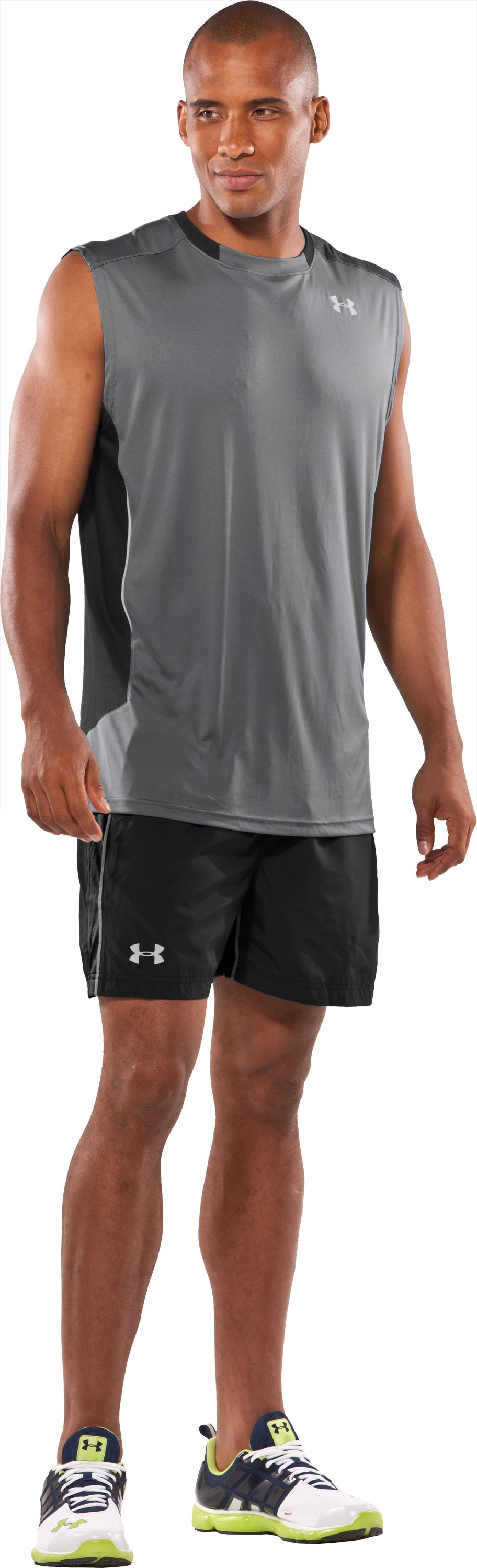 "Men's Draft UA Catalyst 5"" Shorts, Black , zoomed image"