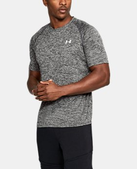 Best Seller Men's UA Tech™ Short Sleeve T-Shirt  3  Colors Available $24.99