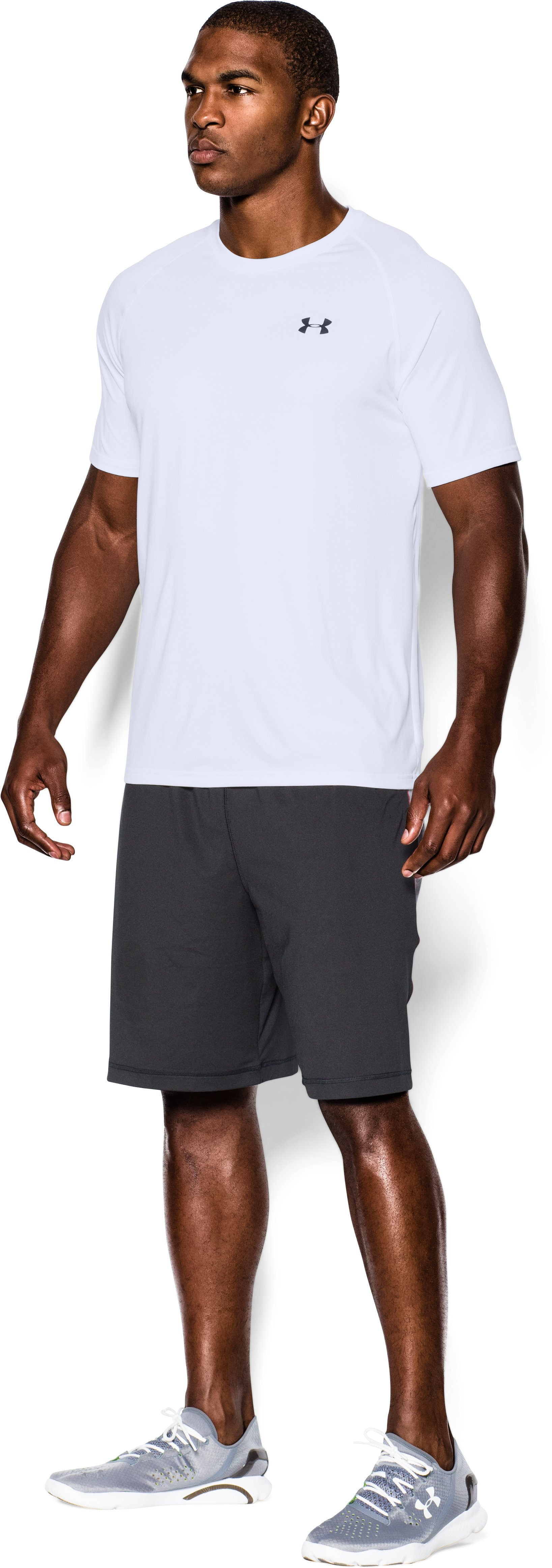 Men's UA Tech™ Short Sleeve T-Shirt, White, undefined
