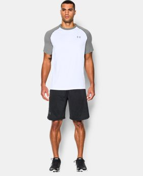 Men's UA Tech™ Short Sleeve T-Shirt LIMITED TIME: FREE U.S. SHIPPING 4 Colors $18.99