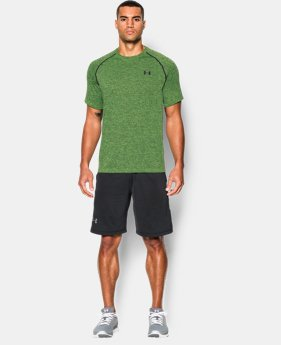 New to Outlet Men's UA Tech™ Short Sleeve T-Shirt  1 Color $11.24 to $14.24