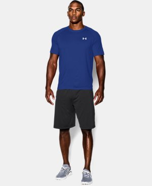 Men's UA Tech™ Short Sleeve T-Shirt LIMITED TIME OFFER + FREE U.S. SHIPPING 12 Colors $18.74
