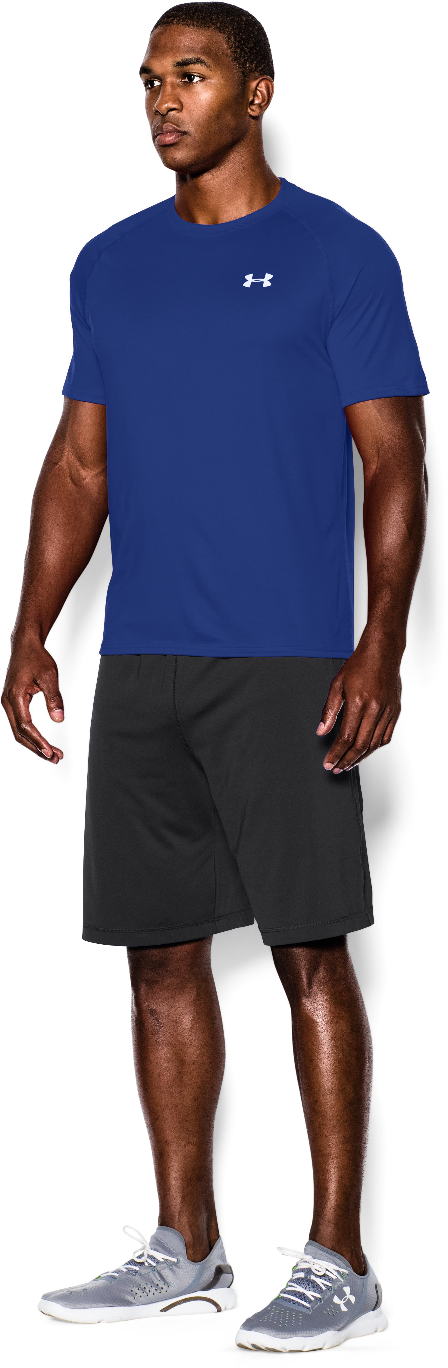 Men's UA Tech™ Short Sleeve T-Shirt, Royal