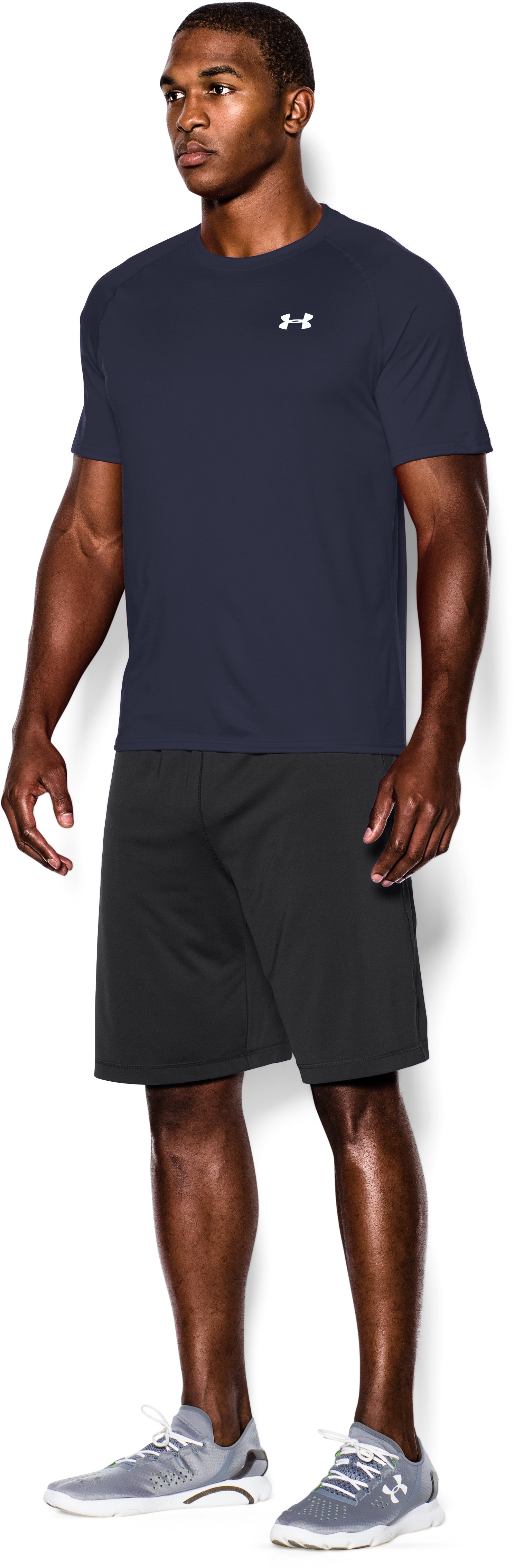 Men's UA Tech™ Short Sleeve T-Shirt, Midnight Navy