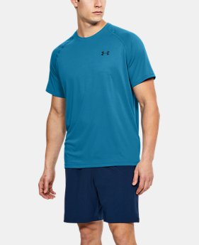 Best Seller Men's UA Tech™ Short Sleeve T-Shirt LIMITED TIME: FREE U.S. SHIPPING 1  Color Available $24.99