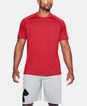 Best Seller Men's UA Tech™ Short Sleeve T-Shirt  12 Colors $19.99