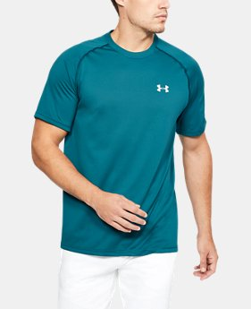 Best Seller Men's UA Tech™ Short Sleeve T-Shirt  13 Colors $19.99