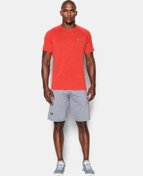 Best Seller  Men's UA Tech™ Short Sleeve T-Shirt LIMITED TIME: FREE SHIPPING 2 Colors $20.99
