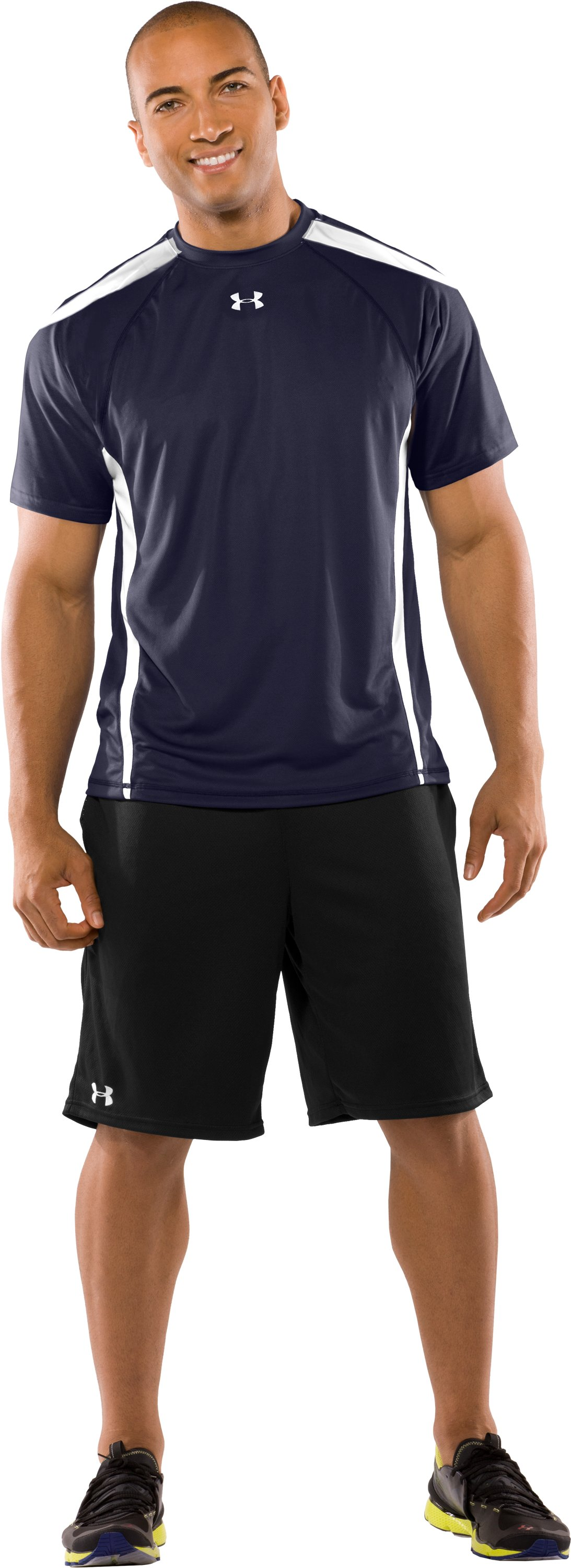 Men's UA Zone VI T-Shirt, Midnight Navy, zoomed image