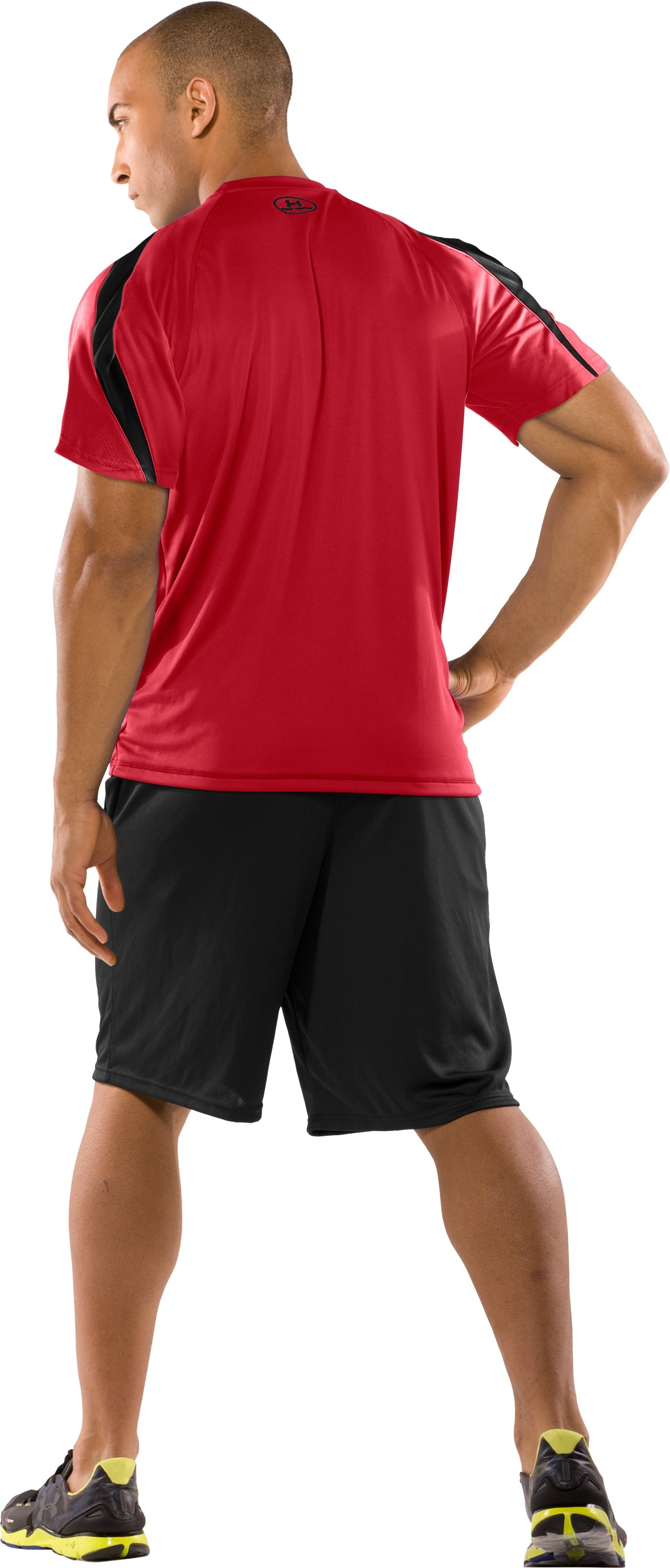 Men's UA Zone VI T-Shirt, Red, Back