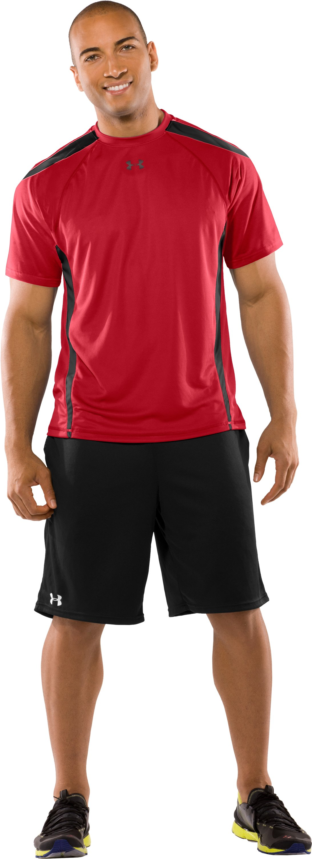 Men's UA Zone VI T-Shirt, Red, Front