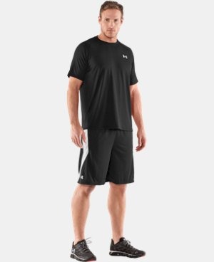 "New to Outlet Men's UA Multiplier 10"" Shorts LIMITED TIME: FREE U.S. SHIPPING 1 Color $19.99"