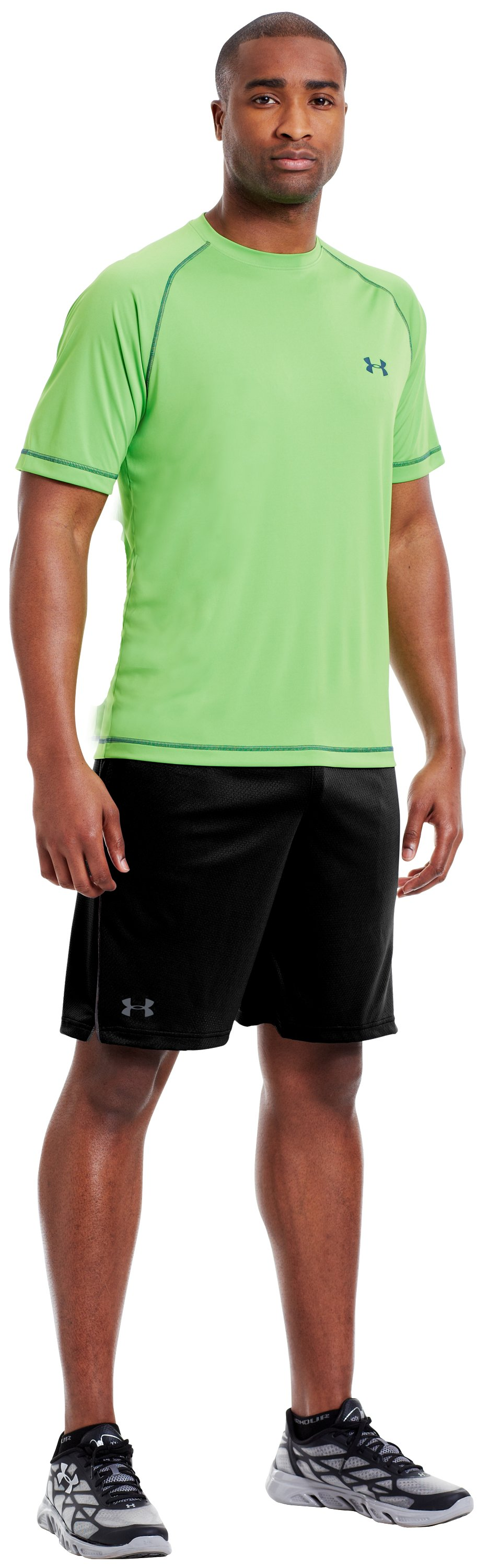 Men's UA Catalyst Shorts, Black , zoomed image