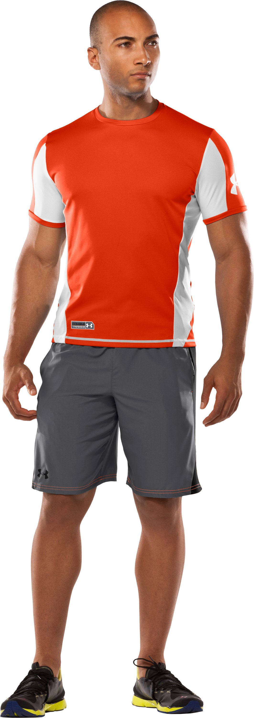 Men's UA Combine™ Training Shorts, Graphite, zoomed image