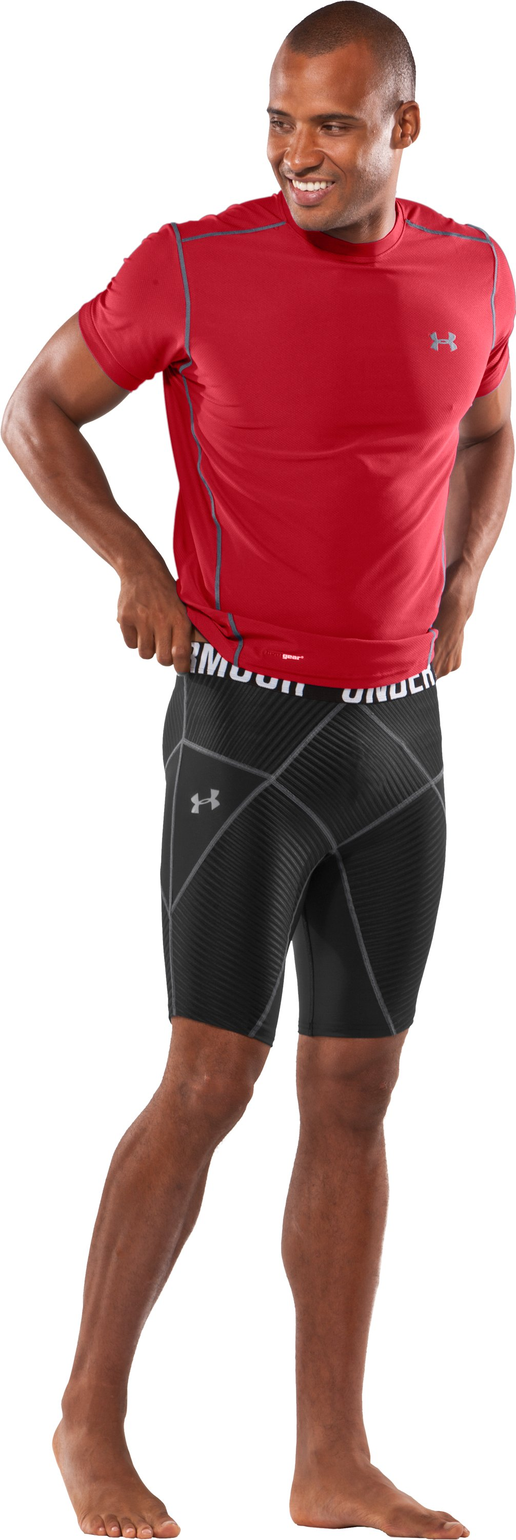 "Men's 9"" UA Coreshorts, Black , zoomed image"