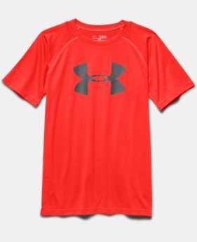 Boys' UA Tech™ Big Logo Short Sleeve T-Shirt