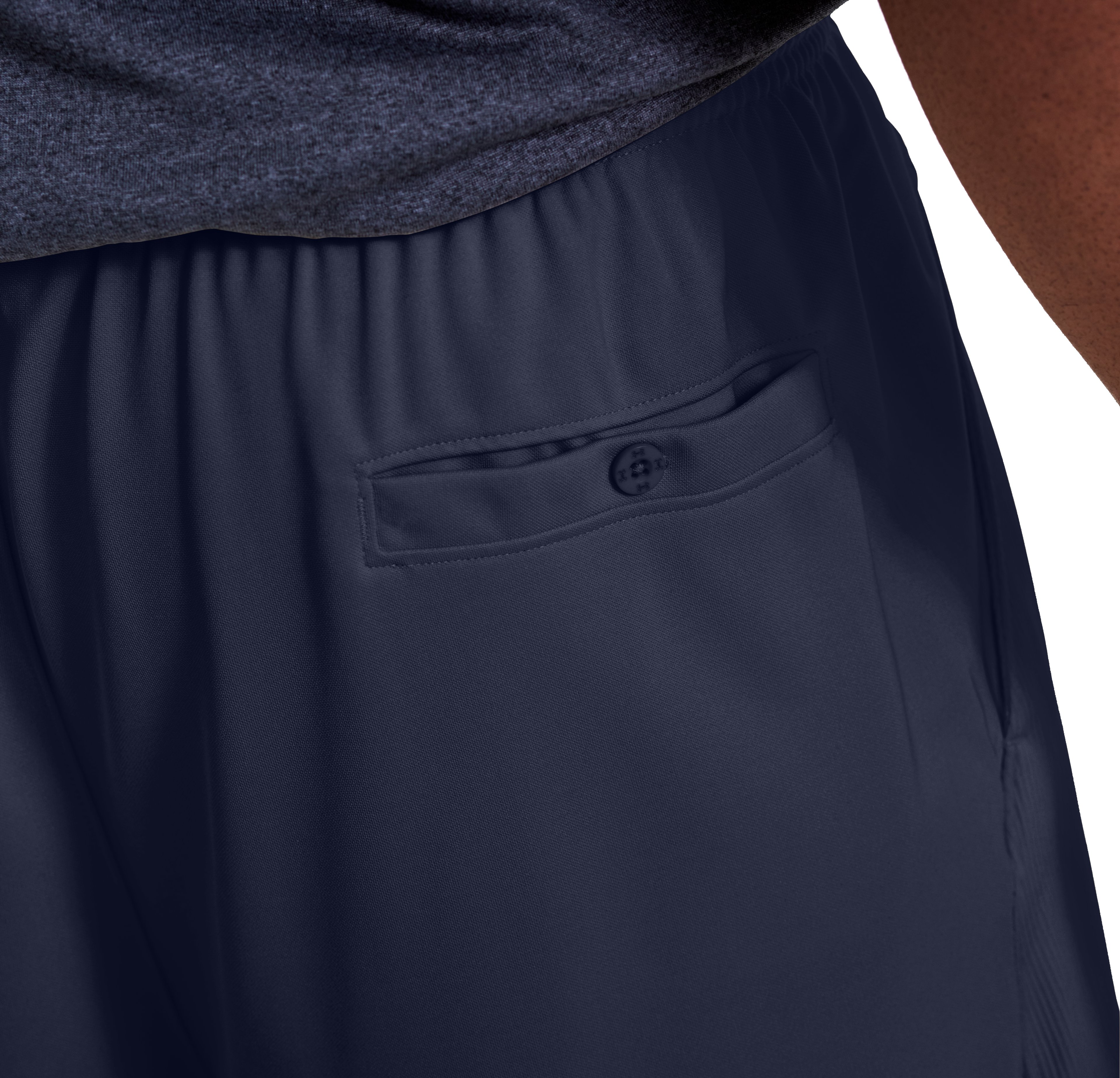 UA Team Coaches Short, Midnight Navy
