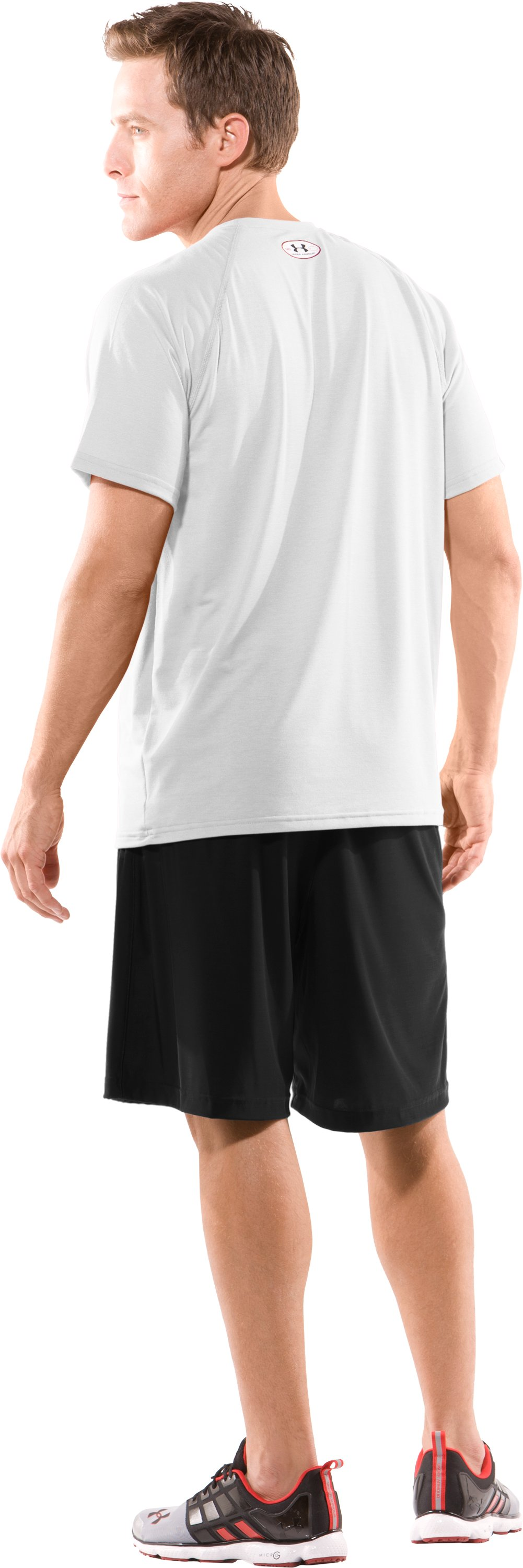 Men's Team Micro Short II, Black , Back