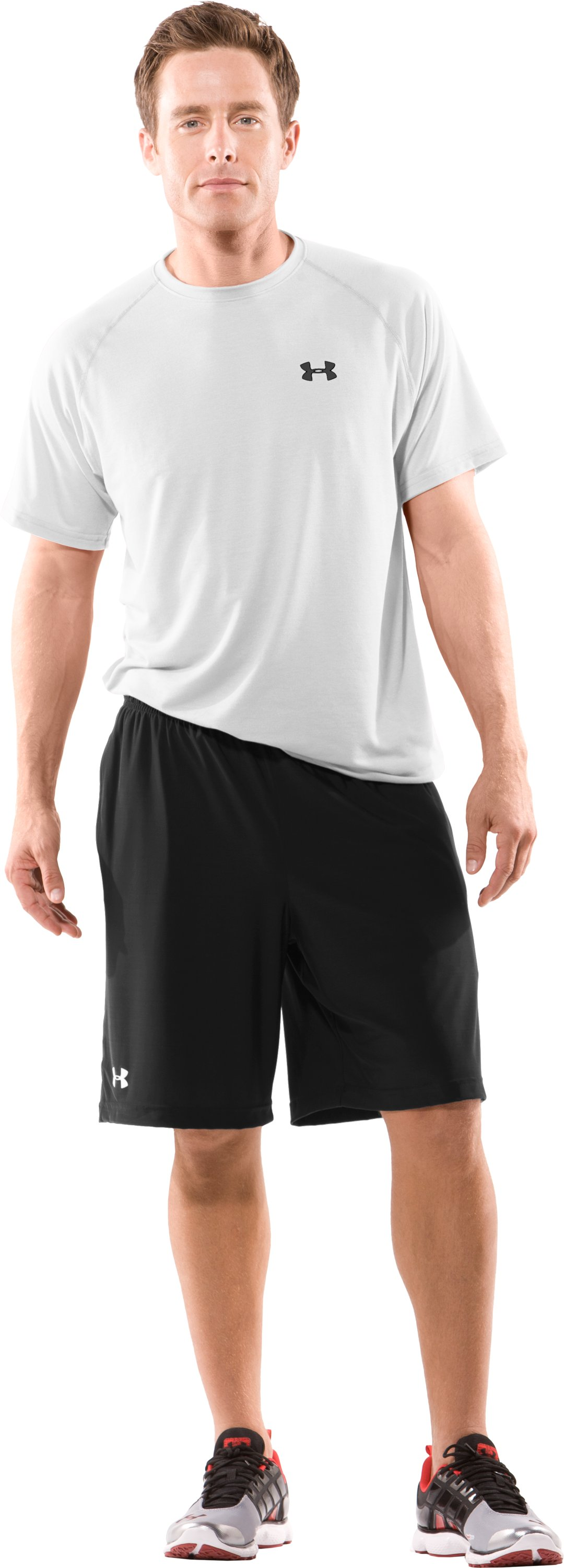 Men's Team Micro Short II, Black , Front