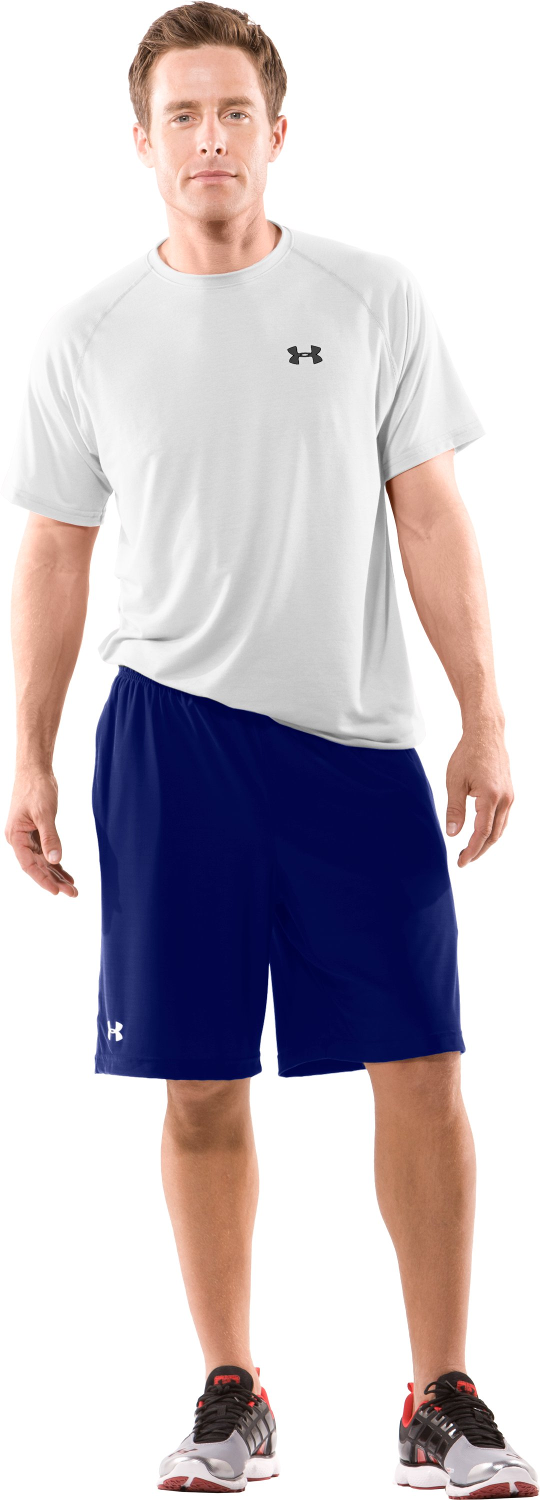 Men's Team Micro Short II, Royal, Front