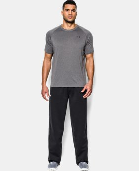 Men's Armour® Fleece Open Bottom Team Pants